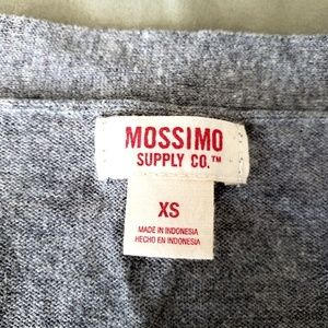 Mossimo Supply Co. Sweaters - Mossimo cotton v-neck cardigan in gray